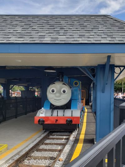 Amusement Park Amusement Park Ride Thomas The Tank Engine Theme Park Pennsylvania Tourism Park Sky Built Structure Architecture Railroad Track Rail Transportation Railroad Station Railroad Platform Public Transportation Railroad Station Platform Train - Vehicle Passenger Train