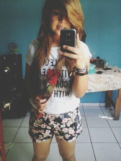 Rosa mas camisa*-*