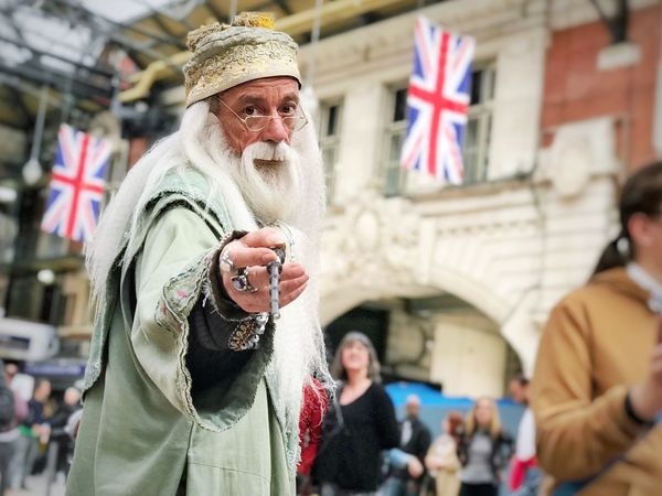 😱 Gandalf?!? - Senior Adult Gandalf Senior Men Happiness Men Real People One Senior Man Only Day Market Adult Outdoors People Portrait Warm Clothing Adults Only Close-up City One Person Politics And Government Only Men