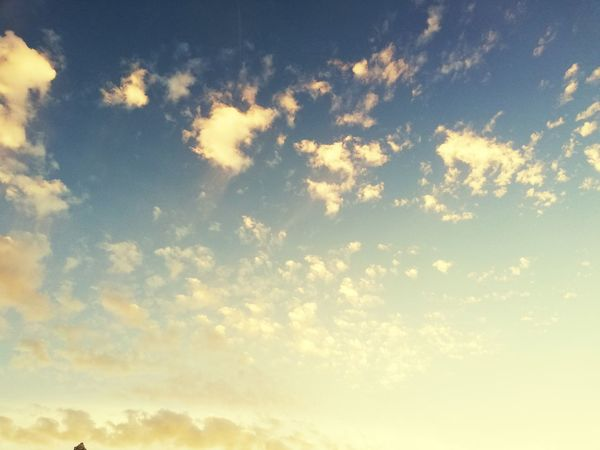 just sky Sunset Backgrounds Blue Sky Only Textured  Brightly Lit Vibrant Color Abstract Cloudscape Bright Fluffy Heaven Infinity