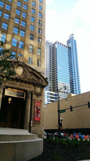 Lyric Opera Downtown Chicago Loop Blue Wave