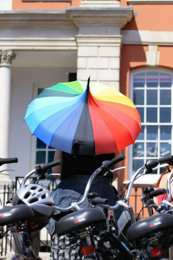 #rainbowllie City City Life Day Focus On Foreground Leisure Activity Lifestyles London Multi Colored Outdoors