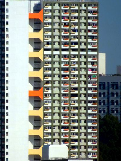 Colourful building Building Exterior Architecture Design Contemporary Outdoor Design Day No People