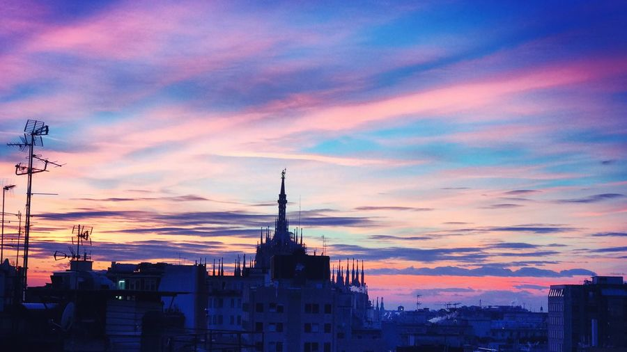 Milano Sunset Rooftop Travel Destinations Sky Cityscape First Eyeem Photo