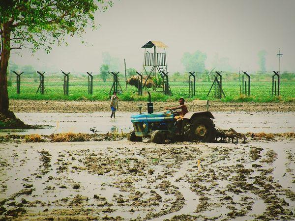 India Pakistan Border Peace Out Warwar