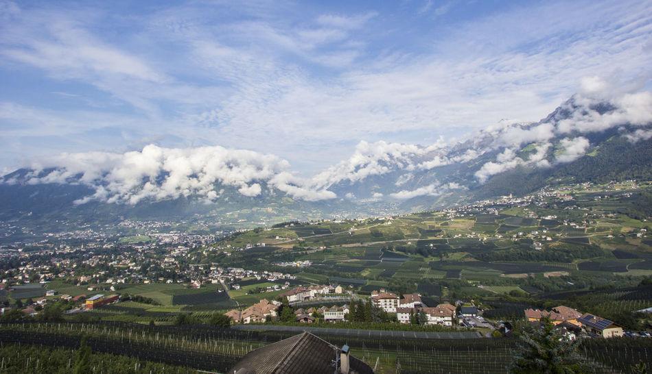 Beauty In Nature Bestview Clouds Landscape Mountain Mountains Nature Schenna Sky Südtirol View Weather
