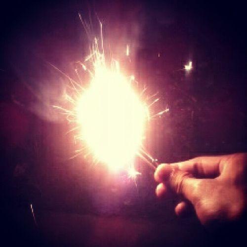 Happy NewYear ! ;) Changeforthebetter Love life great wish lights sparkler 2013