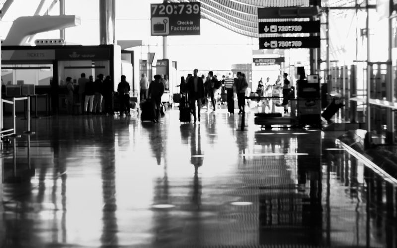 Airport Architecture Black And White Blackandwhite Bnw Bnw_friday_eyeemchallenge Bnw_street Bnw_streetphotography Communication Day Journey Large Group Of People Luggage People Real People Street Street Photography Streetphoto_bw Streetphotography Transportation Transportation Building - Type Of Building Travel Walking EyeEmNewHere Investing In Quality Of Life Black And White Friday Business Stories Mobility In Mega Cities Stories From The City
