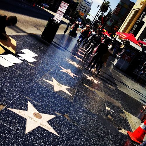HollywoodWalkOfFame Walkoffame a step at a time Throwback