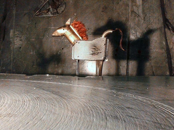 Horse Metal Cava Art Cava Fantiscritti Galleria Ravaccione Marmo Tour Alpi Apuane Carrara