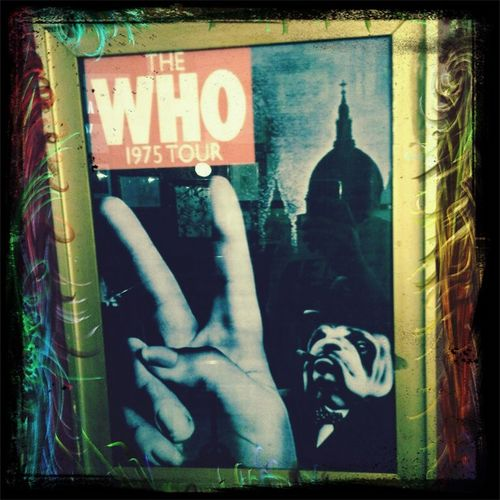 The Who London 1975 - Its only teenage wasteland.'