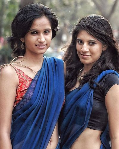 Cute Senior College Girls Collegelife Collegetimes Collegedays Ethnicwear Indiangirl Indiansaree Sexy Saree Contemporary Fashion Retrostyle Retrostylewear Beautiful Friends 2014 Portrait Candid Mumbai India