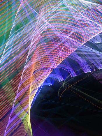Abstract Bandwidth Big Data Cable Communication Complexity Computer Cable Connection Data Electricity  Fiber Optic Futuristic Illuminated Innovation Internet Light Beam Light Trail Long Exposure Motion Multi Colored No People Pattern Speed Studio Shot Technology