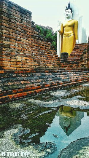 Water Reflection Waterfront Mobile Photography Temple Bhudist