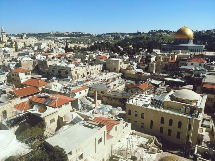 Jerusalem City Cityscape Architecture Travel Destinations Outdoors Building Exterior Roof Day No People Sky