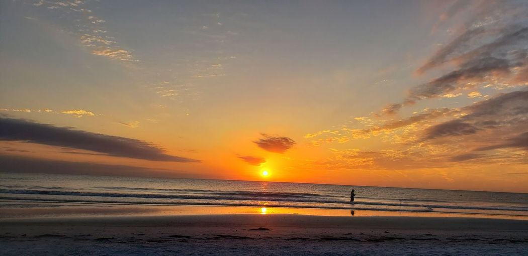 Centered Sunset