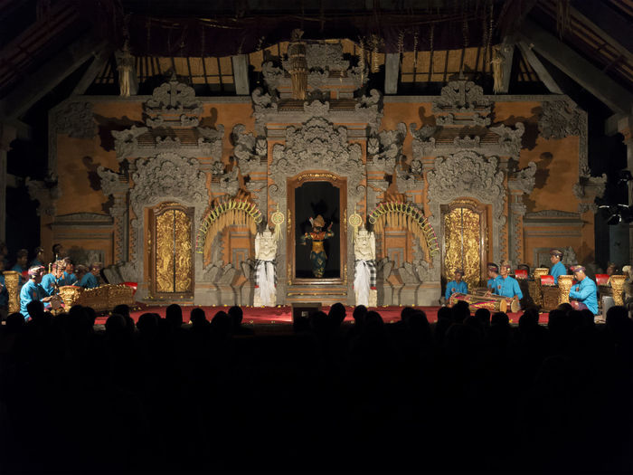 Balinese Legong Dance on the stage Bali Cultures Dance Ethnic INDONESIA Legong Dance Performing Arts Stage Theatre Tourism