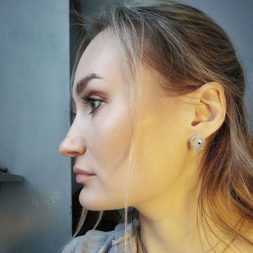 Silver  SimpleDesign Simple Jewellery Jewelrydesign Design #contemporaryart Jewelry Pixelated Beautiful Woman Beauty Portrait Young Women Fashion Model Glamour Human Face Beautiful People Studio Shot