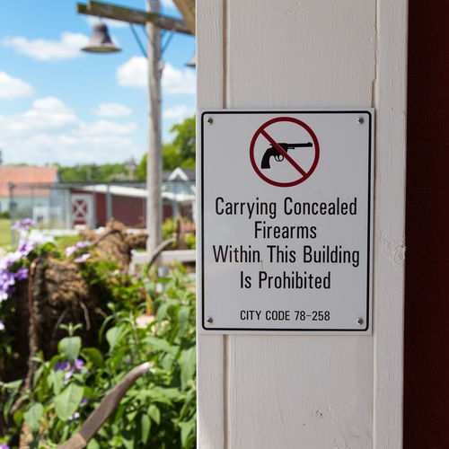 Concealed weapons 2nd Amendment Guns Firearms Concealedcarry Conceal Carry 2ndamendment Sign