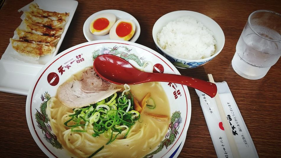 "Pride for having a thicker soup! All I can say is ""OISHII""👌😋👍 Ramen OSAKA Japan Happy Sundayy !♥ Praisethelord Check This Out Itadakimasu Foodtrip Lunch Japan Adventure"