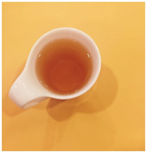 Tea No People Close-up Healthy Eating Indoors  Tea Singapore Singaporean Restaurant Minimalism Yellow Less Is More Tea Cup