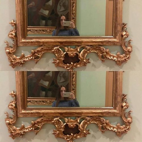 Selfie barroco 😌🎨 HeyThere Whatiwore