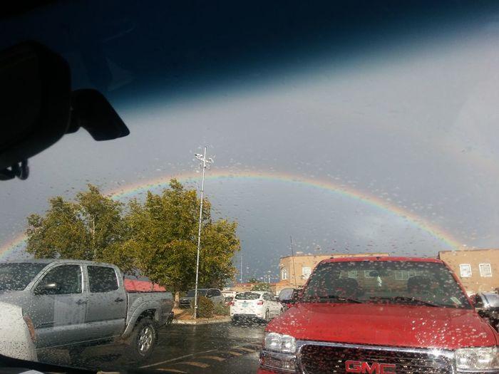 Rainbow Car Wet