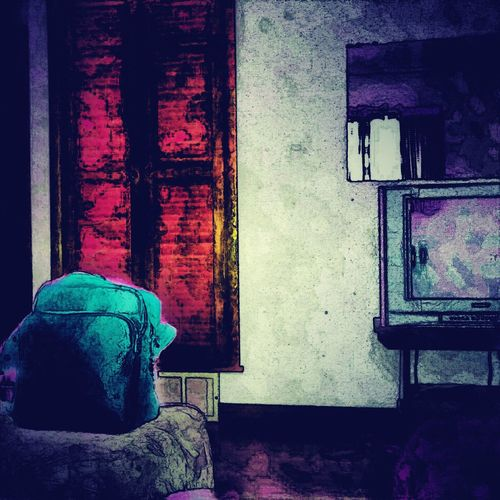 """Eyeofmre Vividdreamseries Darkreflectionseries """"a room of hues infected"""""""
