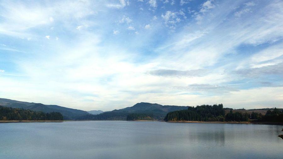 Lake Foster Lake Oregon Water Blue Sky Pacific Northwest  Mountains Mountain View Cascades Cascadia