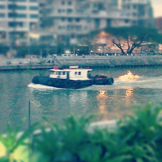 Where's popeye? Acqua Ferry Barge Pasigriver