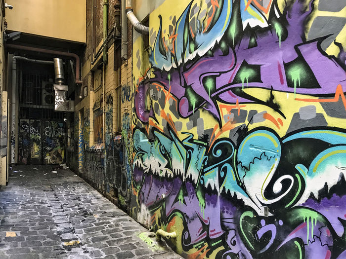 Graffiti. Melbourne Australia Animal Representation Architecture Art And Craft Building Building Exterior Built Structure City Craft Creativity Day Graffiti Multi Colored Mural No People Outdoors Representation Street Street Art Wall Wall - Building Feature Adventures In The City