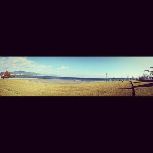 冷到爆炸的琵琶湖畔 。琵琶湖 びわ湖 滋賀県 大津 OtsuPrinceHotel