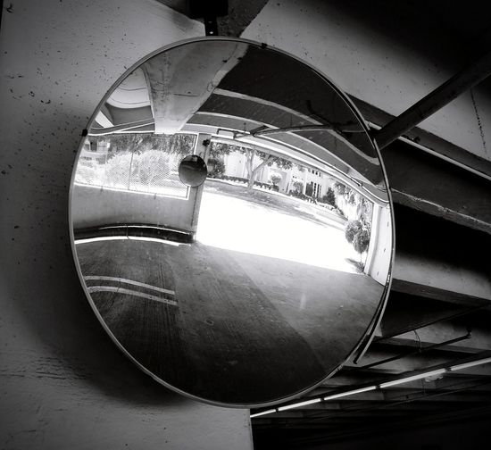Indoors  Blackandwhite Black And White Black And White Photography Black & White B&w Blckandwhite Low Angle View Mirror