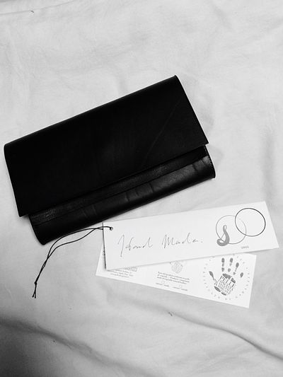 Hand-made leather wallet Leather Unus Craftsmanship  Made In Japan Artisan Atelier&project Mensfashion