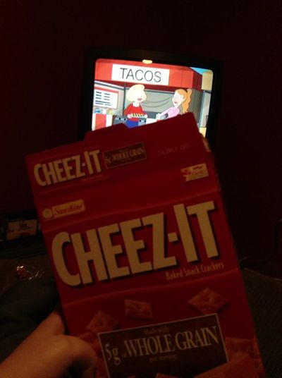 Cheez-its And Fmaily Guy