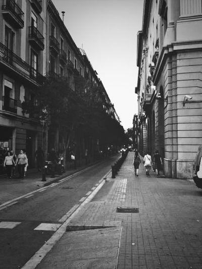 Barcelona Travel Street Follow Me Barcelona