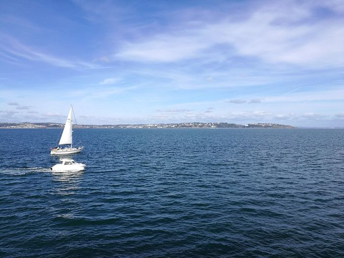 Sea Sailboat