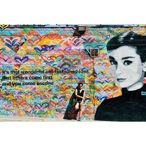Wise Miss Hepburn Thank you @chechilitta for the photo La Lt Audreyhepburn Quote