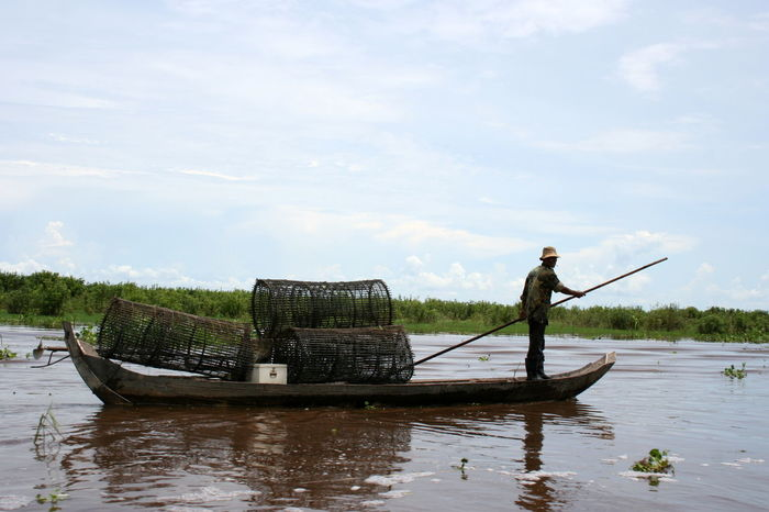 Boat People Cambodia Cambodian Countryside Cambodian Village Fishing Boar Rowing Tonle Sap Tonle Sap Lake Travel Destinations Travel Photography