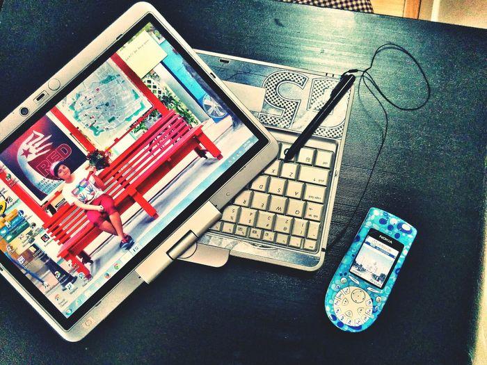 My workstation :D My Laptop Hp Laptop Hp Elitebook