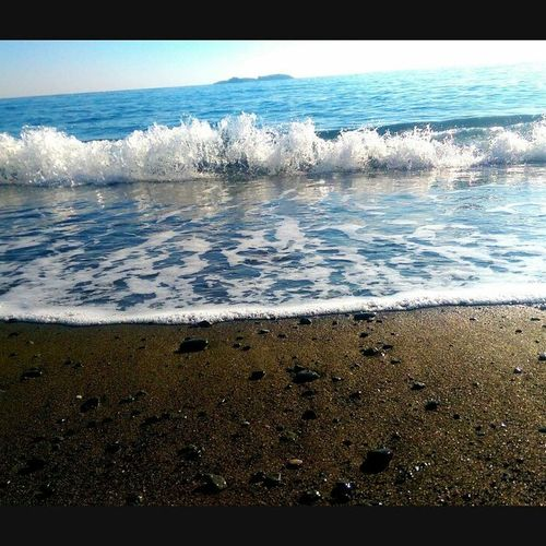 Sea Beach Water Nature Shore Wave Sand Beauty In Nature Outdoors Day No People Tranquility Horizon Over Water Scenics Sky