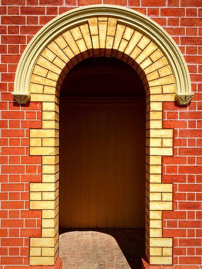 Doorway Bricks Doorway Red&yellow Shine On! Pattern Pieces
