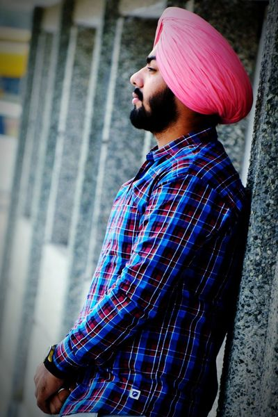 Beard Only Men One Man Only Young Adult Adults Only Portrait One Person Lifestyles Long Goodbye Welcome To Black Mustache Healthy Lifestyle Mensfashion Gabru Farmer Turban EyeEmNewHere The Golden Temple Black Beauty