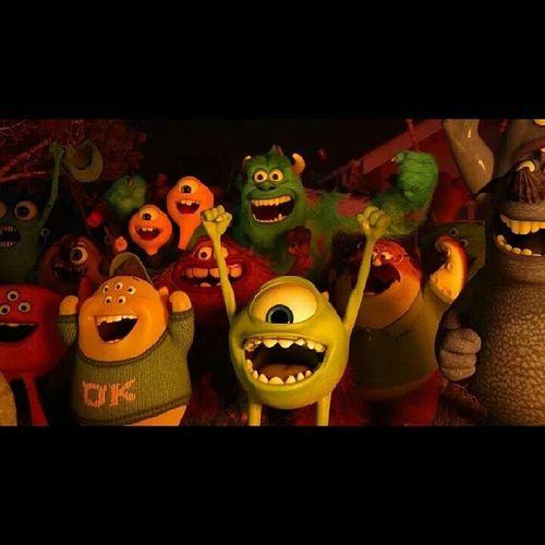 仍保有赤子次心,今天的你一定很快樂 ♥ 兒童節快樂呀!!!!!!!!!!!!!(≧3≦) Monstersinc Disney Disneylover
