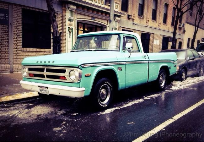 Dodge Truck Classic Car Timyoungiphoneography Hells Kitchen