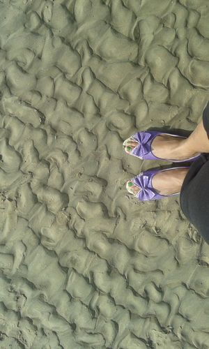 On The Beach Shoes Relaxing