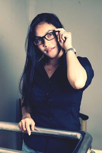 eyeglas Eyeglass Potrait_photography Potrait Of Woman Hairstyle Girl Portrait