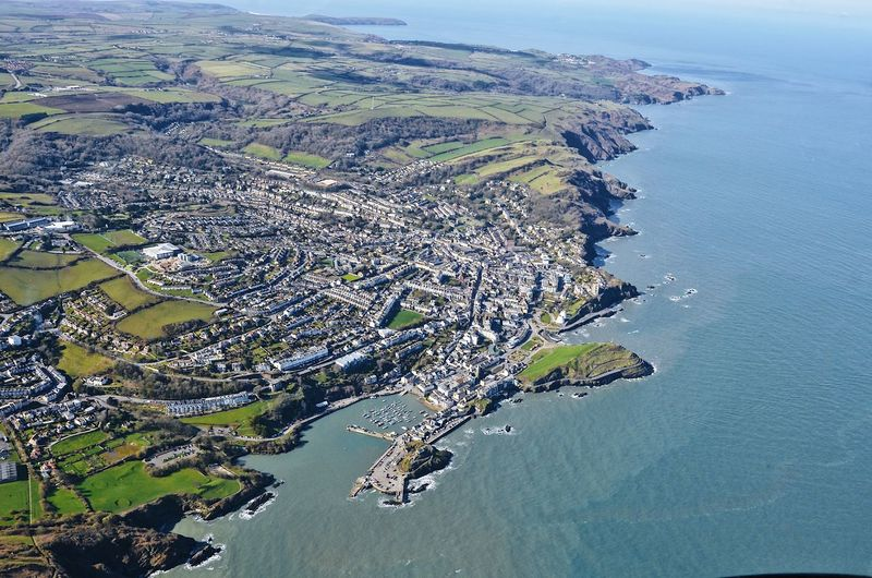 Ilfracombe from the sky EyeEmNewHere Water Aerial View High Angle View Sea Scenics - Nature Nature Land Beauty In Nature Environment Built Structure Architecture Day Beach Tranquil Scene Tranquility No People Coastline Landscape Outdoors