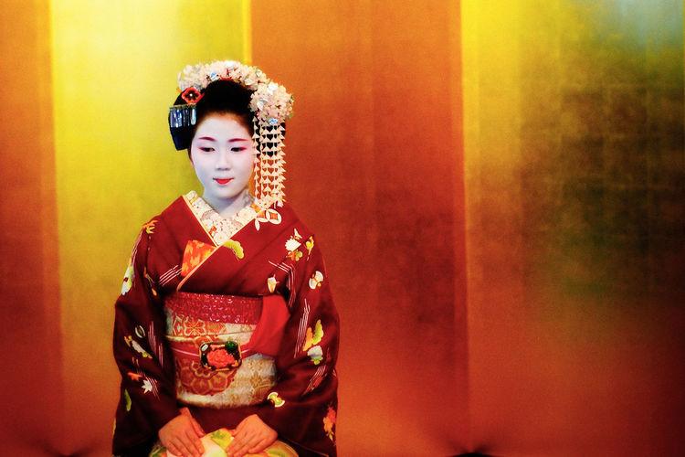 Asian Culture Geisha Maiko Tea Ceremony Kyoto Japan Epson R-D1 Canon F/0.95
