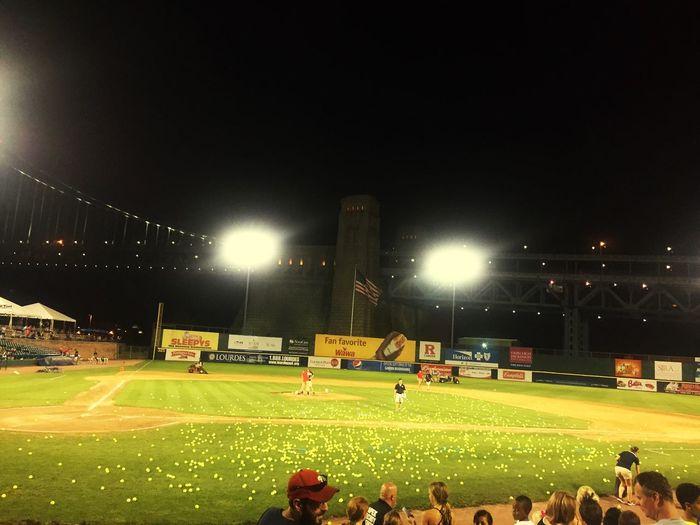 Riverside Sharks Waterfront Baseball Baseball Field Baseball Game Tennis Balls Winners Losers Hula Hoops Diamond